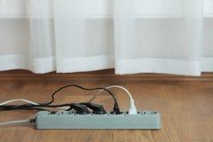 ηλεκτρική επέκταση σκοι& Στοκ Εικόνες