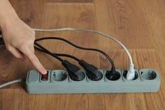 ηλεκτρική επέκταση σκοι& Στοκ εικόνα με δικαίωμα ελεύθερης χρήσης