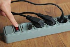 ηλεκτρική επέκταση σκοι& Στοκ Φωτογραφίες