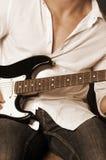 ηλεκτρική κιθάρα Στοκ Φωτογραφίες