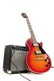 ηλεκτρική κιθάρα Στοκ φωτογραφίες με δικαίωμα ελεύθερης χρήσης