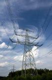 ηλεκτρική μετάδοση πύργων Στοκ εικόνες με δικαίωμα ελεύθερης χρήσης