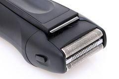 Ηλεκτρική ξυριστική μηχανή για το άτομο Στοκ Εικόνες