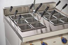 Ηλεκτρική σόμπα ατμού Βιομηχανικός εξοπλισμός κουζινών catering στοκ φωτογραφίες με δικαίωμα ελεύθερης χρήσης