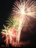 ηλεκτρικοί φοίνικες πυροτεχνημάτων Στοκ Εικόνα