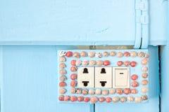 ηλεκτρικός διακόπτης οστρακόδερμων Στοκ Φωτογραφία