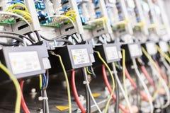 ηλεκτρικός εξοπλισμός Εκλεκτική εστίαση Στοκ φωτογραφίες με δικαίωμα ελεύθερης χρήσης