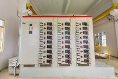 Ηλεκτρικός θαλαμίσκος ελέγχου στοκ φωτογραφίες με δικαίωμα ελεύθερης χρήσης