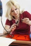 Ηλεκτρικός μύλος Στοκ εικόνα με δικαίωμα ελεύθερης χρήσης