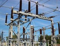 ηλεκτρικός ουρανός ισχύ&omic Στοκ Εικόνες