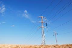 ηλεκτρικός ουρανός Στοκ εικόνες με δικαίωμα ελεύθερης χρήσης