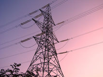 ηλεκτρικός πυλώνας της Α Στοκ φωτογραφία με δικαίωμα ελεύθερης χρήσης