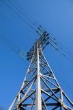 ηλεκτρικός πόλος μετάλλ&o Στοκ φωτογραφία με δικαίωμα ελεύθερης χρήσης