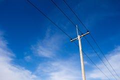 ηλεκτρικός πόλος απεικόνιση αποθεμάτων