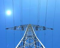 ηλεκτρικός πύργος Στοκ φωτογραφίες με δικαίωμα ελεύθερης χρήσης