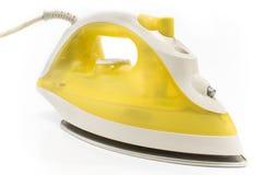 ηλεκτρικός σίδηρος κίτρινος Στοκ φωτογραφίες με δικαίωμα ελεύθερης χρήσης