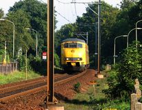 ηλεκτρικός σιδηρόδρομος μηχανών Στοκ φωτογραφία με δικαίωμα ελεύθερης χρήσης