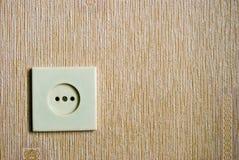 ηλεκτρικός τοίχος βυσμάτων Στοκ Εικόνα