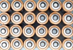 Ηλεκτρικό Αντιαεροπορικό Πυροβολικό μπαταριών σύστασης AA στοκ φωτογραφία
