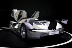 Ηλεκτρικό αυτοκίνητο έννοιας Supercar κουκουβαγιών Aspark Στοκ Φωτογραφία