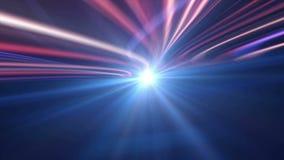 Ηλεκτρικό αφηρημένο καλώδιο ινών, ζωτικότητα που δίνει, υπόβαθρο, βρόχος ελεύθερη απεικόνιση δικαιώματος