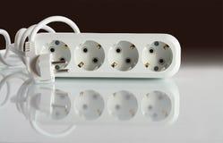 ηλεκτρικό βύσμα κλάδων Στοκ φωτογραφίες με δικαίωμα ελεύθερης χρήσης