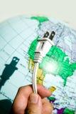 ηλεκτρικό βύσμα Στοκ Εικόνα