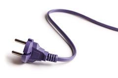 Ηλεκτρικό βύσμα Στοκ εικόνες με δικαίωμα ελεύθερης χρήσης