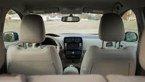 Ηλεκτρικό εσωτερικό αυτοκινήτων στοκ φωτογραφία με δικαίωμα ελεύθερης χρήσης