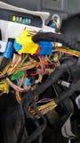 Ηλεκτρικό σύστημα αυτοκινήτων, ηλεκτρική μονάδα υπολογιστών Στοκ φωτογραφίες με δικαίωμα ελεύθερης χρήσης
