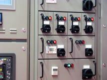 Ηλεκτρικό χαρτόνι ελέγχου Στοκ Εικόνες