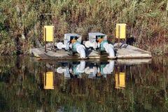 ηλεκτρικό ύδωρ αντλιών Στοκ Εικόνες