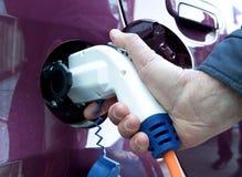 ηλεκτρικό refil αυτοκινήτων Στοκ Εικόνες