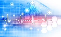 Ηλεκτροκαρδιογράφημα, ecg, ekg διανυσματική απεικόνιση