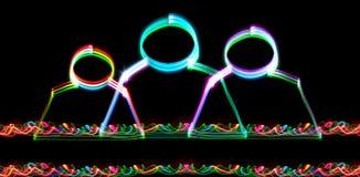 ηλεκτρονικές ομάδες επ&io στοκ εικόνα