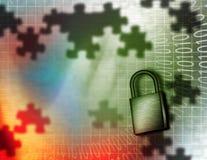 ηλεκτρονική ασφάλεια διανυσματική απεικόνιση