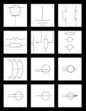 ηλεκτρονική εφαρμοσμένη μηχανική Στοκ Εικόνες