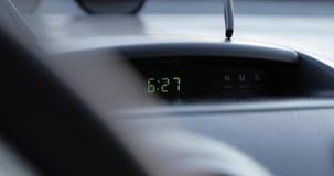 Ηλεκτρονική κινηματογράφηση σε πρώτο πλάνο ρολογιών αυτοκινήτων ψηφιακή φιλμ μικρού μήκους