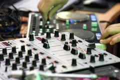 ηλεκτρονική μουσική Στοκ φωτογραφία με δικαίωμα ελεύθερης χρήσης