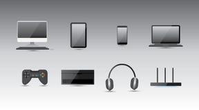 ηλεκτρονικός εξοπλισμό&si Στοκ Εικόνα