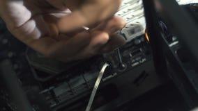 Ηλεκτρονικός μηχανικός της τεχνολογίας υπολογιστών Βελτίωση υλικού υπολογιστών ΚΜΕ συντήρησης του τμήματος μητρικών καρτών PC φιλμ μικρού μήκους