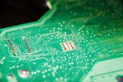 Ηλεκτρονικός πίνακας κυκλωμάτων του υπολογιστή Στοκ Εικόνες