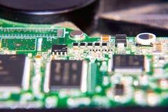 Ηλεκτρονικός πίνακας κυκλωμάτων του υπολογιστή Στοκ Φωτογραφίες