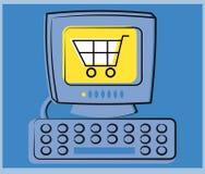 ηλεκτρονικό εμπόριο Στοκ Εικόνες