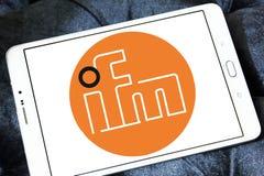 Ηλεκτρονικό λογότυπο επιχείρησης Ifm Στοκ Εικόνες