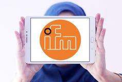 Ηλεκτρονικό λογότυπο επιχείρησης Ifm Στοκ φωτογραφία με δικαίωμα ελεύθερης χρήσης