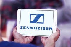 Ηλεκτρονικό λογότυπο επιχείρησης Sennheiser Στοκ φωτογραφία με δικαίωμα ελεύθερης χρήσης
