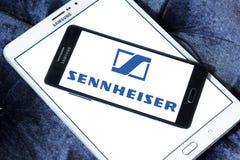 Ηλεκτρονικό λογότυπο επιχείρησης Sennheiser Στοκ Εικόνες