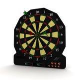 Ηλεκτρονικό παιχνίδι στόχων Στοκ Εικόνα