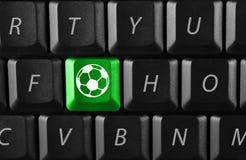 ηλεκτρονικό ποδόσφαιρο Στοκ φωτογραφία με δικαίωμα ελεύθερης χρήσης
